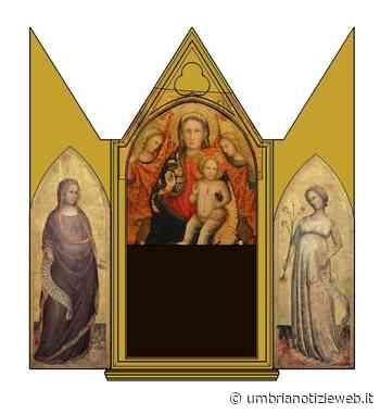 Spoleto. Ricomposto e visibile per la prima volta il trittico ricomposto del Maestro della Madonna Straus - Umbria Notizie Web