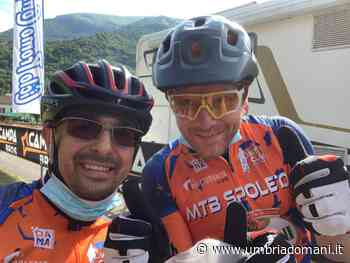 Partecipazione MTB Club Spoleto al GF Monte Cucco - Umbriadomani