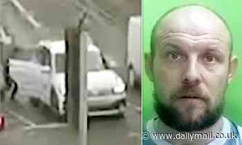 Stranger sneaked into a woman's car as she pulled up at traffic lights