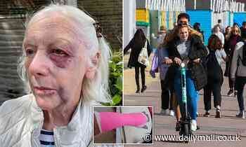 Gran, 74, falls off Beryl hire e-scooter in Bournemouth
