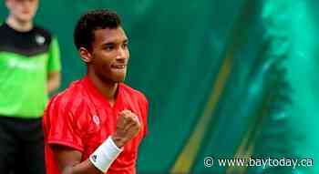 Montreal's Auger-Aliassime advances to the semifinals of the Noventi Open