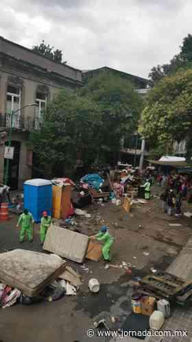 Traslada la UPREZ su campamento de la Roma a sede del INPI - La Jornada