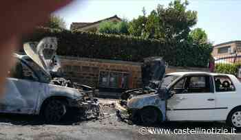 Ciampino, a fuoco due auto in via Lucrezia Romana - Castelli Notizie