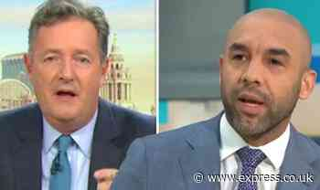 Piers Morgan escalates feud with GMB's Alex Beresford 'He's just a stand-in weather guy!' - Express
