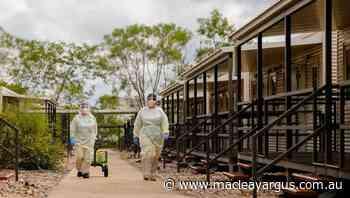 AUSMAT worker in Howard Springs quarantine - The Macleay Argus