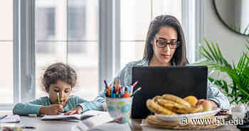 The Ivory Tower Is Like the Real World in One Way: Mothers Still Do Most of the Childcare, BU Researcher Finds - BU Today