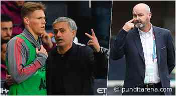 Jose Mourinho calls for Scott McTominay position change ahead of England clash - Pundit Arena