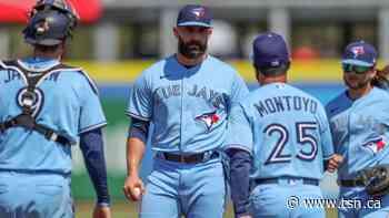 Toronto Blue Jays bullpen Scott Mitchell - TSN