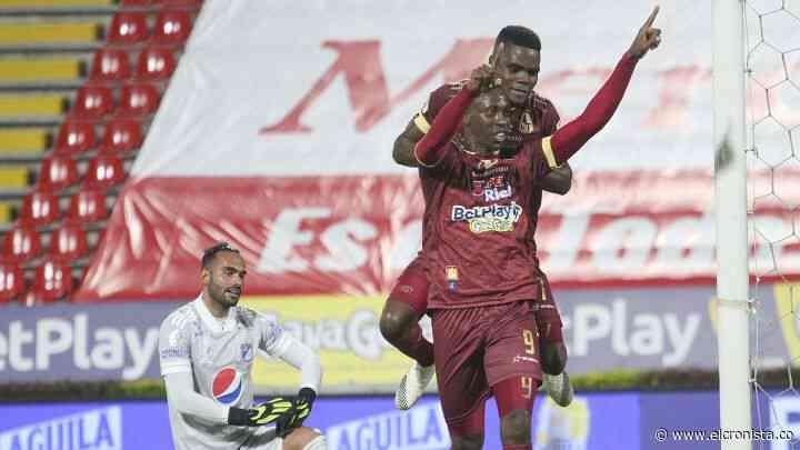 Deportes Tolima a consagrarse en Bogotá: empató 1 - 1 con Millonarios - El Cronista