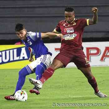 Minuto 13: Doble remate del Deportes Tolima, el palo le negó el primero al Pijao [EN VIVO] - Extra Bucaramanga