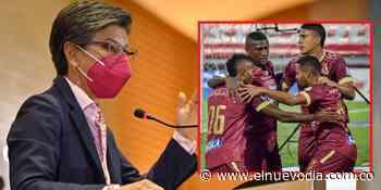 Claudia López se enojó y no respondió pregunta sobre el Deportes Tolima y su encuentro con 'Millos' - El Nuevo Dia (Colombia)