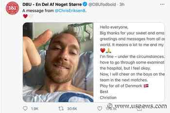 Eriksen Released From Hospital After 'Successful' Operation