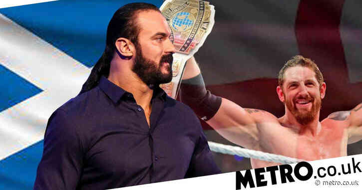 England v Scotland: WWE's Wade Barrett slams Drew McIntyre for being let-down as UK's first ever WWE champion