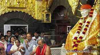 Mumbai: Congress, NCP race to head Shirdi Trust - The Indian Express