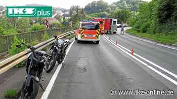 Jugendliche rasen mit Motorrädern durch Iserlohn - Unfall - IKZ News