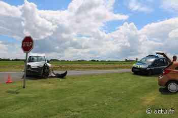 Près de Grandvilliers, deux véhicules impliqués dans un accident - Le Réveil de Neufchâtel