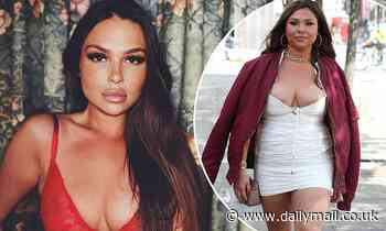 TOWIE's Fran Parman flaunts two stone weight loss in sexy lace bra on Instagram