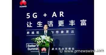 Huawei veröffentlicht AR-White Paper und erläutert die Vorteile von 5G + AR