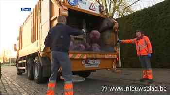 Vanaf volgend jaar wordt afval elke week opgehaald in Diest