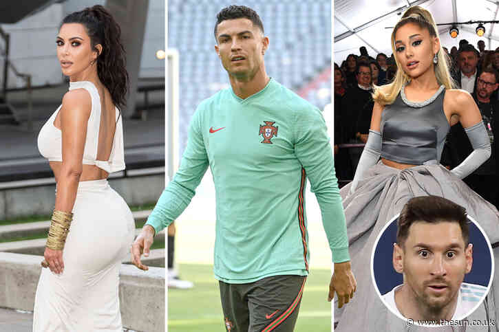 Cristiano Ronaldo becomes first person ever to reach 300MILLION Instagram followers – 80m more than rival Lionel Messi