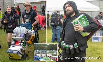 Thousands gather at Download to enjoy bands with mosh pits, no social distancing and no masks