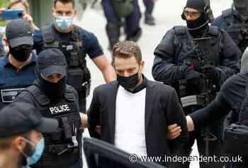 Husband of murdered British woman Caroline Crouch taken to court in handcuffs and bulletproof vest