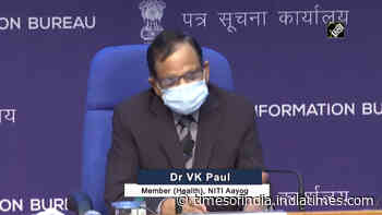 'Hospitalization chances 75-80% less after vaccination': NITI Aayog