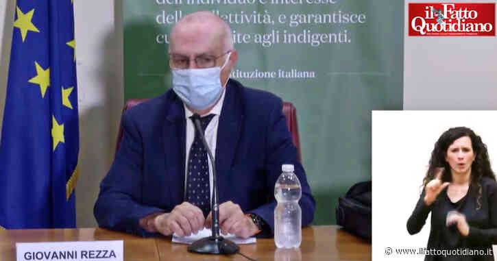 """Covid, Rezza: """"Ricoveri? La grande maggioranza riguarda persone non vaccinate"""" – Video"""