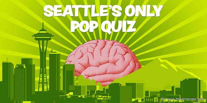 My, What a Big Brain You Have! Fucking Flex It for Me by Taking Seattle's Only Pop Quiz! Mmf! Hot!