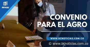 En Caldas se firmó convenio para la prestación del servicio público de extensión agropecuaria - BC Noticias