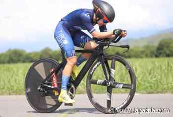 Diana Carolina fue la mejor de Caldas en la CRI del Nacional de Ciclismo - La Patria.com