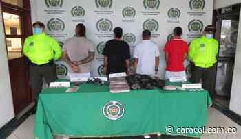 Desmantelado grupo por supuesto microtráfico en Arauca - Palestina - Caracol Radio