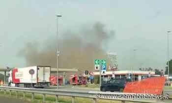 Incendio all'Autogrill di Cascina Gobba sulla Tangenziale Est di Milano - Sempione News