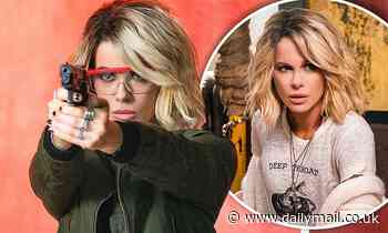 Kate Beckinsale goes from brunette beauty to blonde bombshell in the upcoming action feature Jolt