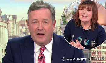 Lorraine Kelly insists Piers Morgan will return to GMB 'in some shape or form'
