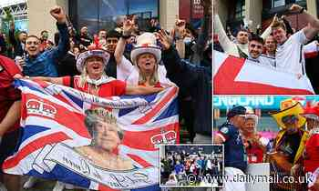 England fans prepare for crunch Euro 2020 football derby with Scotland