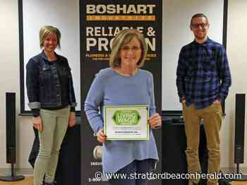 Milverton-based Boshart Industries is the region's newest living-wage employer - The Beacon Herald