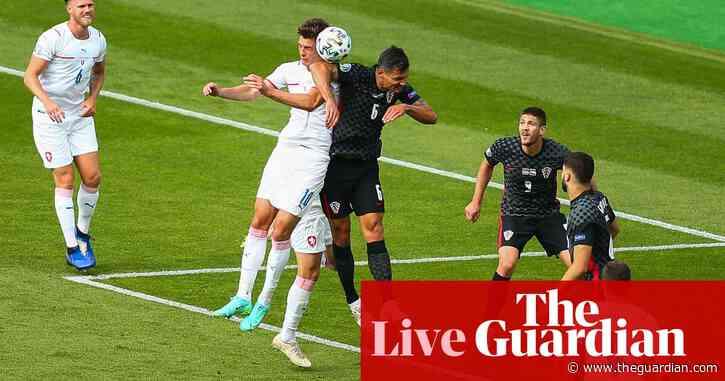 Croatia 1-1 Czech Republic: Euro 2020 – as it happened