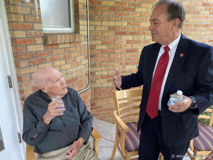 102-Year-Old Veteran In Denver Receives Overdue Medals For Service In WWII