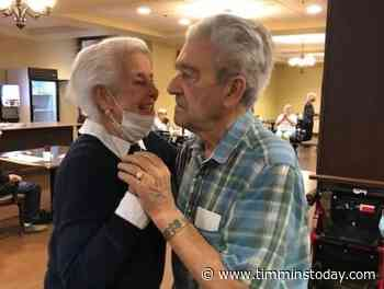 Couple share a dance for 72nd wedding anniversary - TimminsToday
