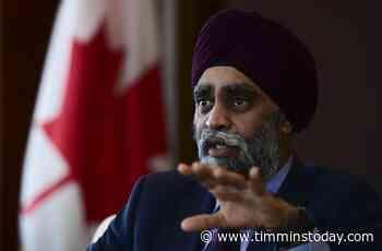 Trudeau defends Sajjan, accuses Tories of slandering embattled defence minister - TimminsToday