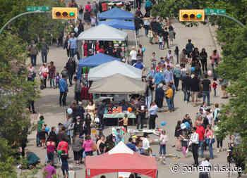Saturday sidewalk sale a scaled-down street fair - Prince Albert Daily Herald