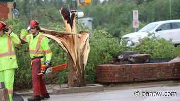 Intense storm hits Prince Albert - paNOW