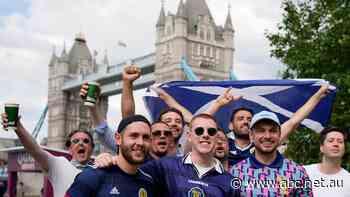 Live: England meets historic rivals Scotland at Wembley