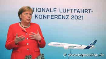 Luftfahrtgipfel: Merkel drängt Branche zu Innovationen