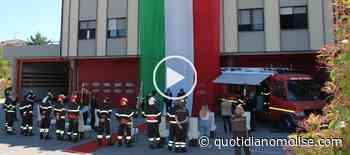 Consegna delle benemerenze ai Vigili del Fuoco di Campobasso (VIDEO E GALLERIA FOTO) - Il Quotidiano del Molse