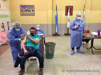 Este viernes en Candelaria continuó el plan de vacunación contra el Coronavirus - Agencia de Noticias San Luis