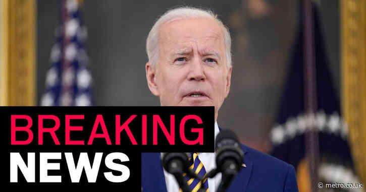 Joe Biden touts US administering 300million Covid shots in 150 days