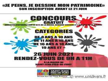 Concours de dessin et peinture Saint-Jean-Pied-de-Port samedi 26 juin 2021 - Unidivers