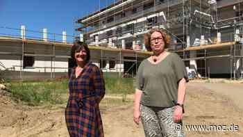 Kinder Betreuung: Obwohl die Esta-Kita in Neuruppin gerade erst gebaut wird, ist die Hälfte der Plätze schon ausgebucht - moz.de
